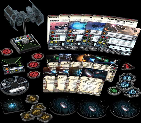 X-Wing - Miniatures Game: TIE Punisher Expansion Pack