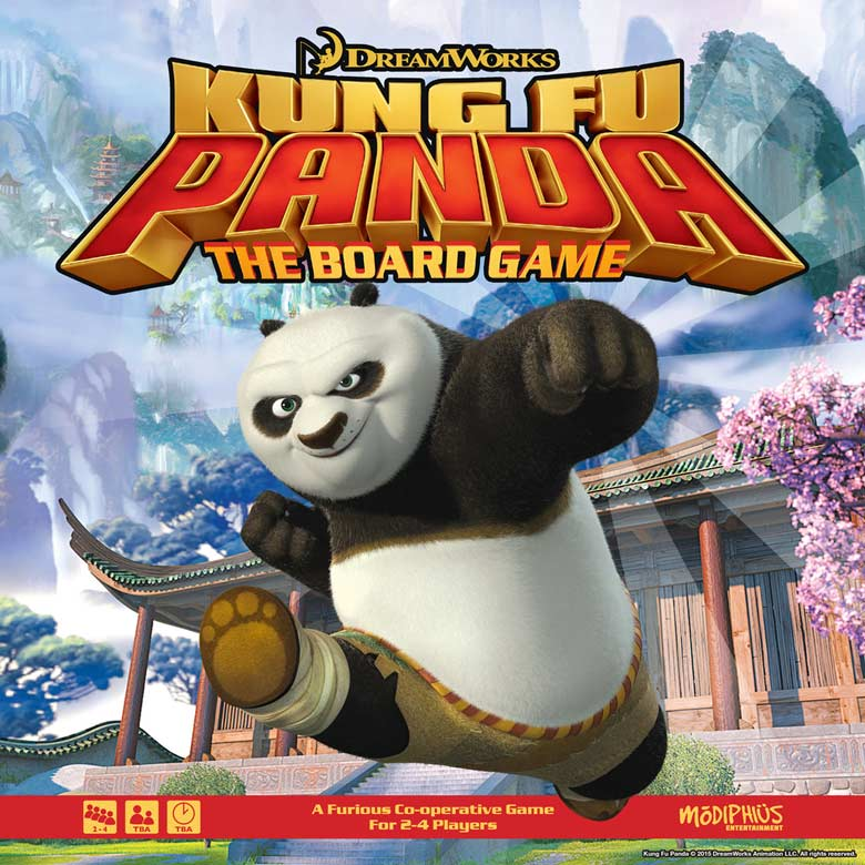 Kung Fu Panda: The Board Game