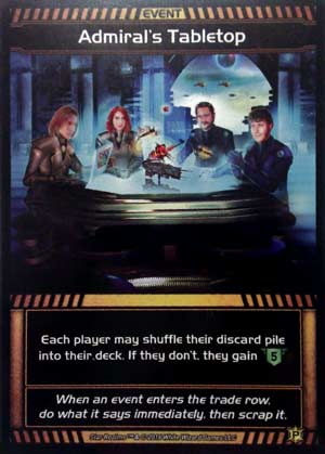 Star Realms: Admiral's Tabletop