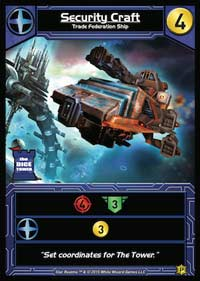 Star Realms: Security Craft Promo Card