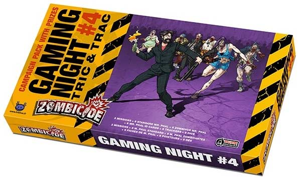 Zombicide: Gaming Night #04 - Mr. Phal