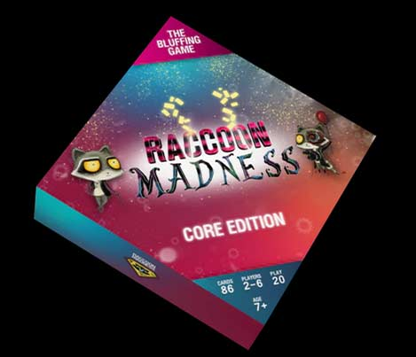 Raccoon Madness Game