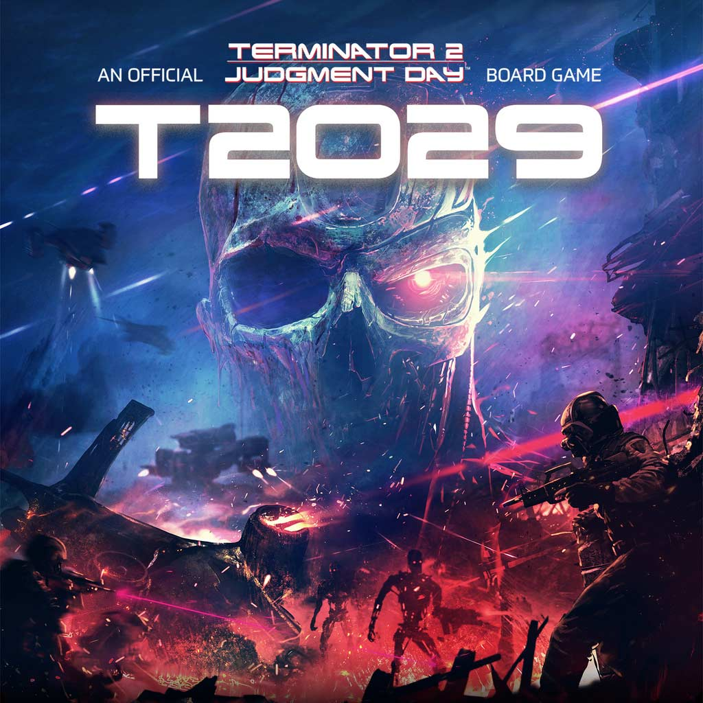 T2029: The Official Terminator 2 Board Game