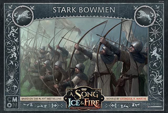 A Song of Ice & Fire - Unit Box Stark Bowmen