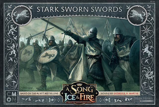 A Song of Ice & Fire - Unit Box Stark Sworn Swords