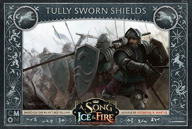A Song of Ice & Fire - Unit Box Tully Sworn Shields