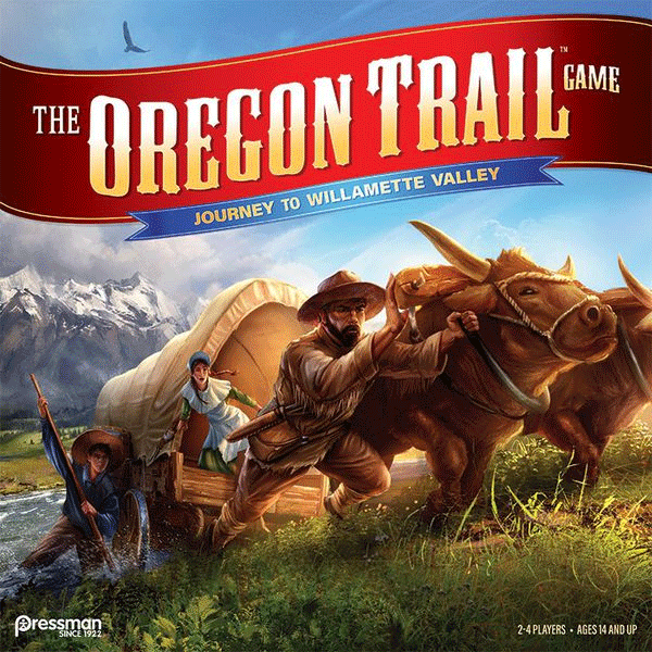 The Oregon Trail Game: Journey to Willamette Valley