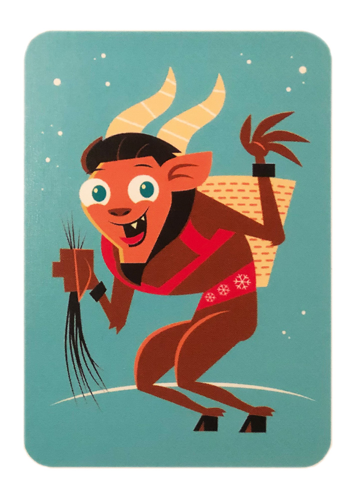 Christmas Lights: Krampus (Promocard)