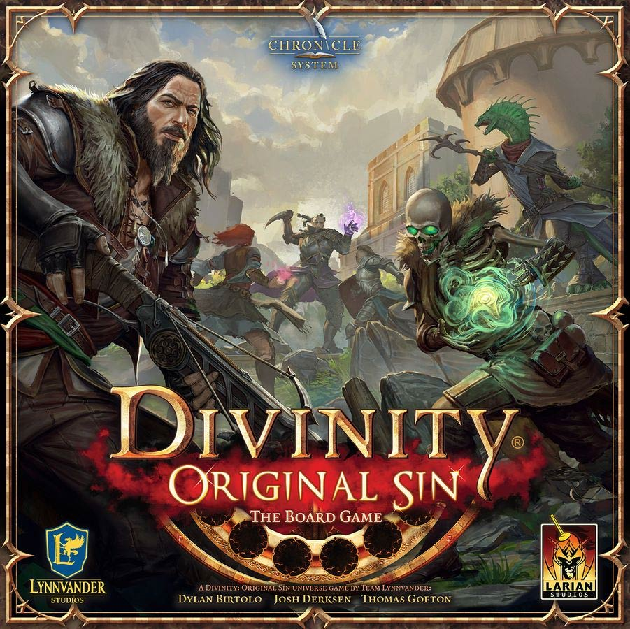 Divinity Original Sin: the Board Game