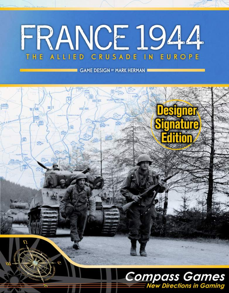France 1944: The Allied Crusade in Europe, Designer Signature Edition