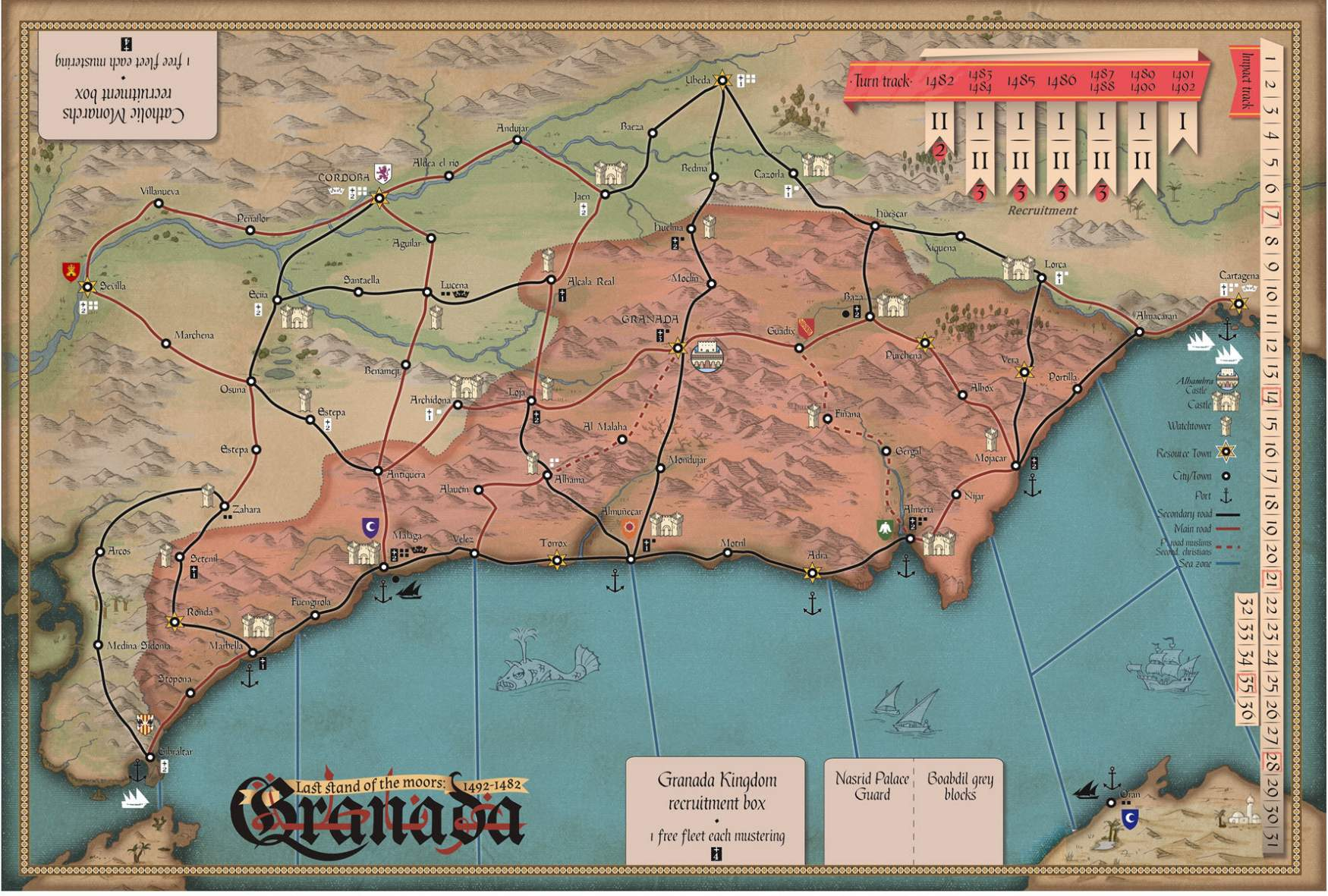 Granada: Last Stand of the Moors, 1482-1492