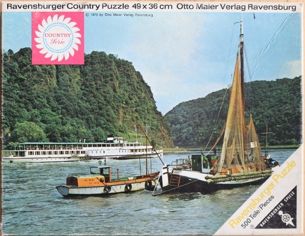 Ravensburger Country Puzzle - Loreley
