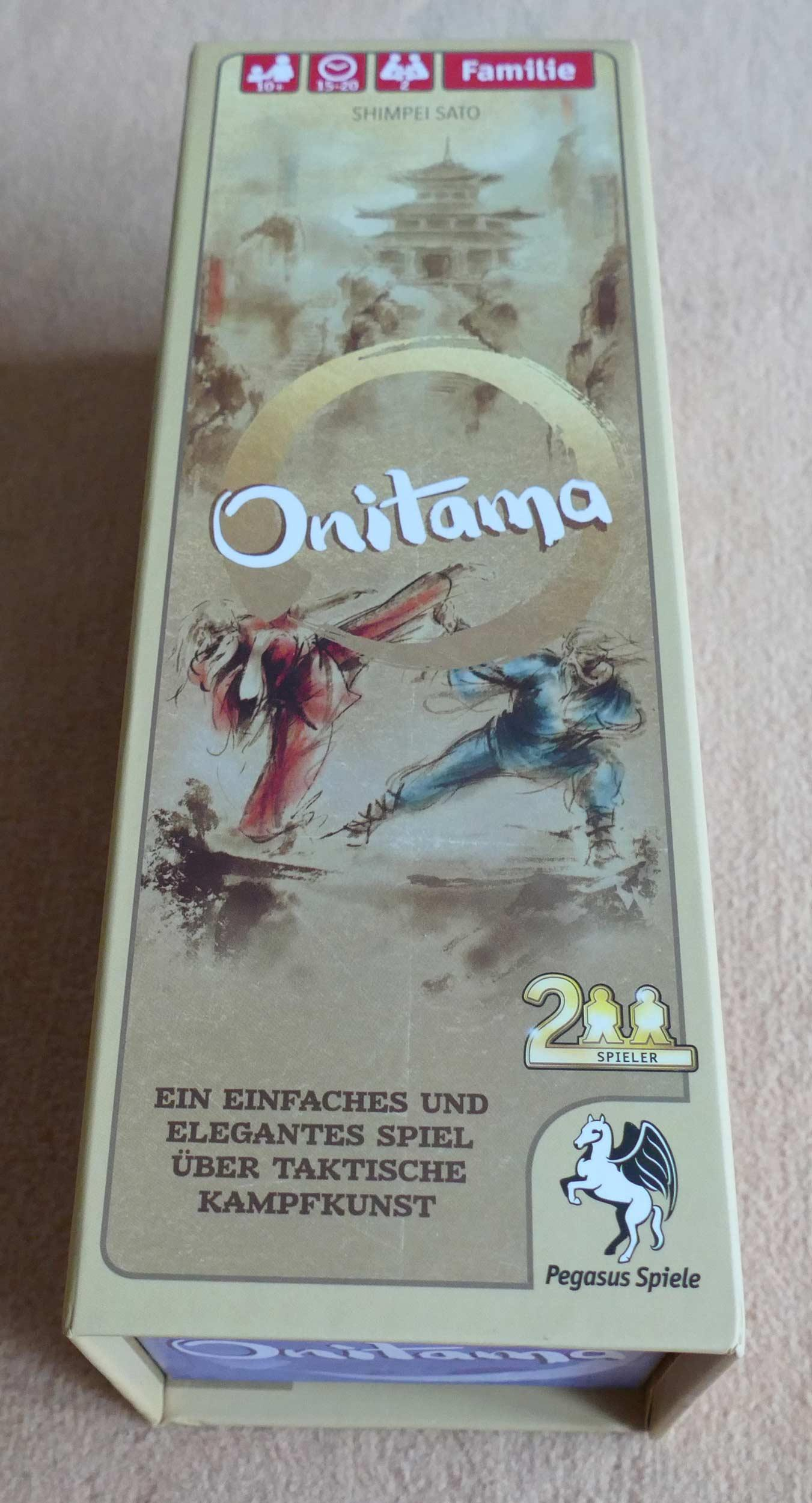 Rezension zu Onitama