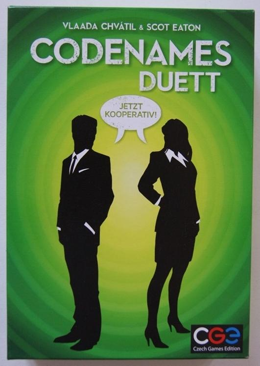 Rezension zu Codenames Duett