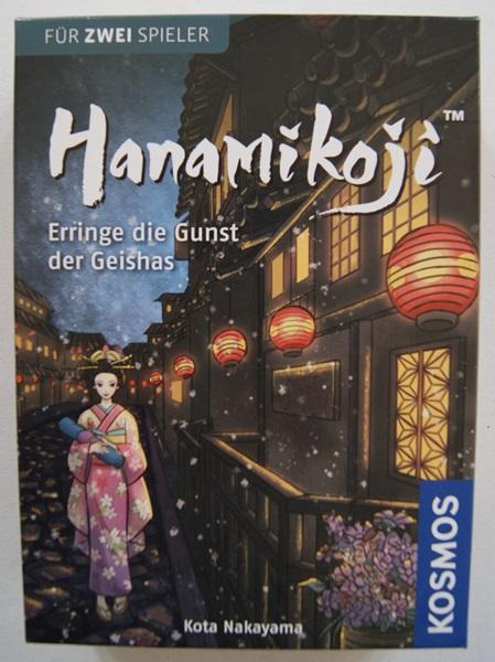 Rezension zu Hanamikoji